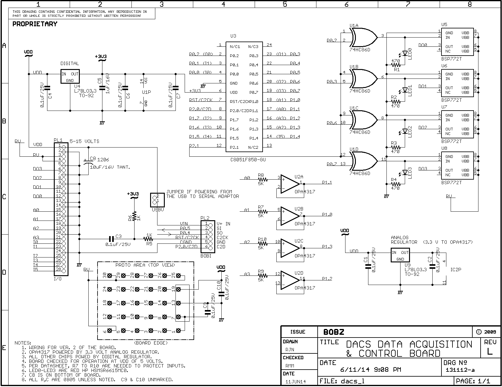 Dacs Serial Data Acquisition System Incremental Encoder Wiring Diagram These Pins Are Designated Rv Relay Voltage On The Schematic And Board Pin Pl1 5 Is Ground Connection For Supply