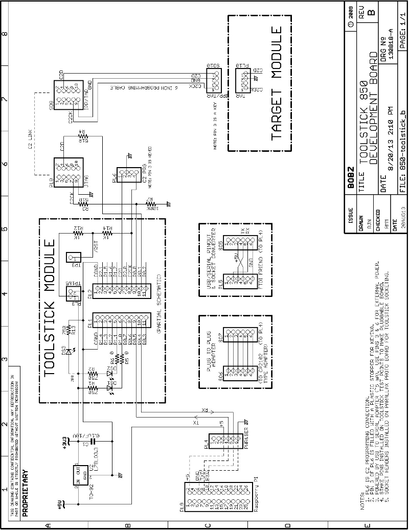 Prog C2 Programmer Wiring Schematic Of 850 Toolstick Based