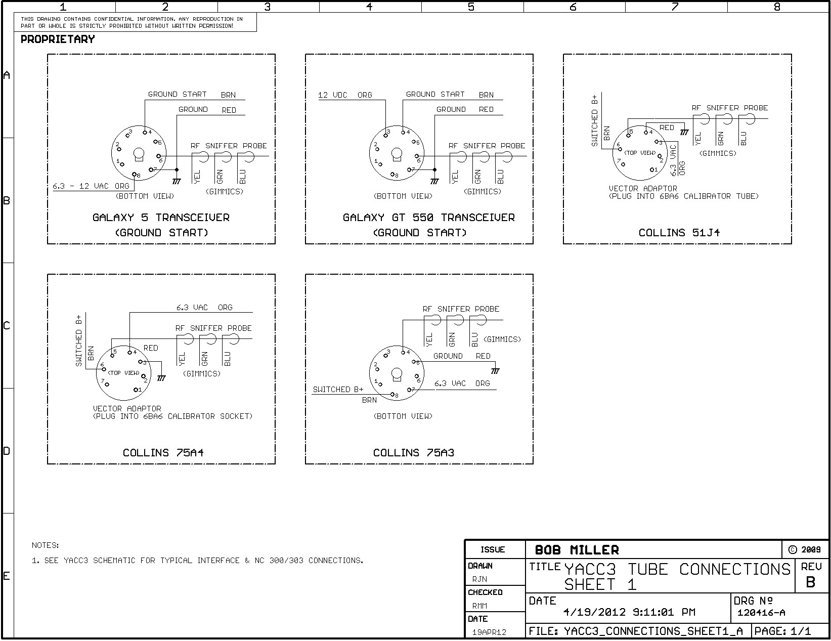 Miller 14 Pin Connector Wiring Diagram 38 Images For 6 Schematic3 Yacc3 Connections Sheet1 B Yacc Module Documentation At